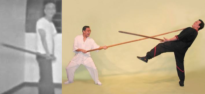 Wing Tsun Kung Fu Warszawa - Forma Długiego Kija Look Dim Poon Kwun w wykonaniu Si-Jo Leung Tinga oraz Si-Jo Yip Mana