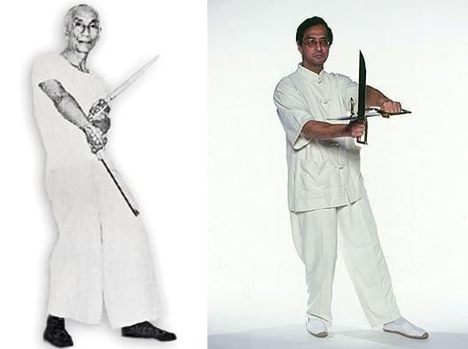 Wing Tsun Kung Fu Warszawa - Forma Noży Bart Cham Dao w wykonaniu Si-Jo Leung Tinga oraz Si-Jo Yip Mana