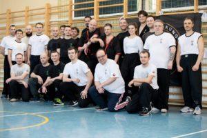 Seminarium Wing Tsun Kung Fu drewnianego manekina w Kielcach 2019-2