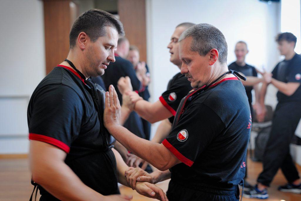 Trening Instruktorski Wing Tsun Kung Fu Warszawa w 2018 roku - 1